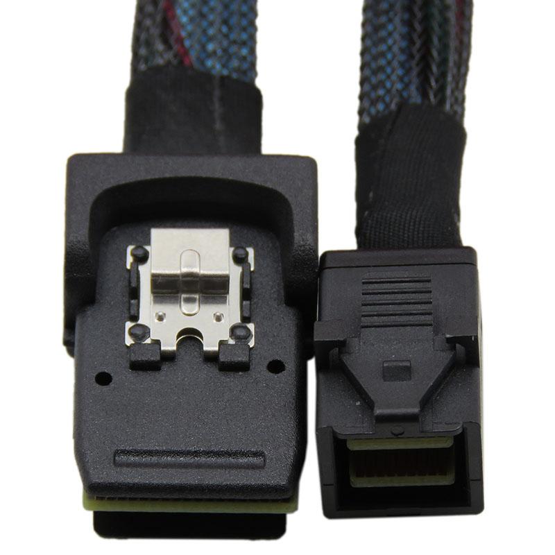 振德 CableDeconn SFF-8643对SFF-8087 内置Mini sas服务器连接线