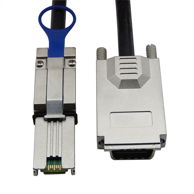 振德 CableDeconn SFF-8470转SFF-8088 MINI SAS 26P TO Infiniband 服务器硬盘数据传输线