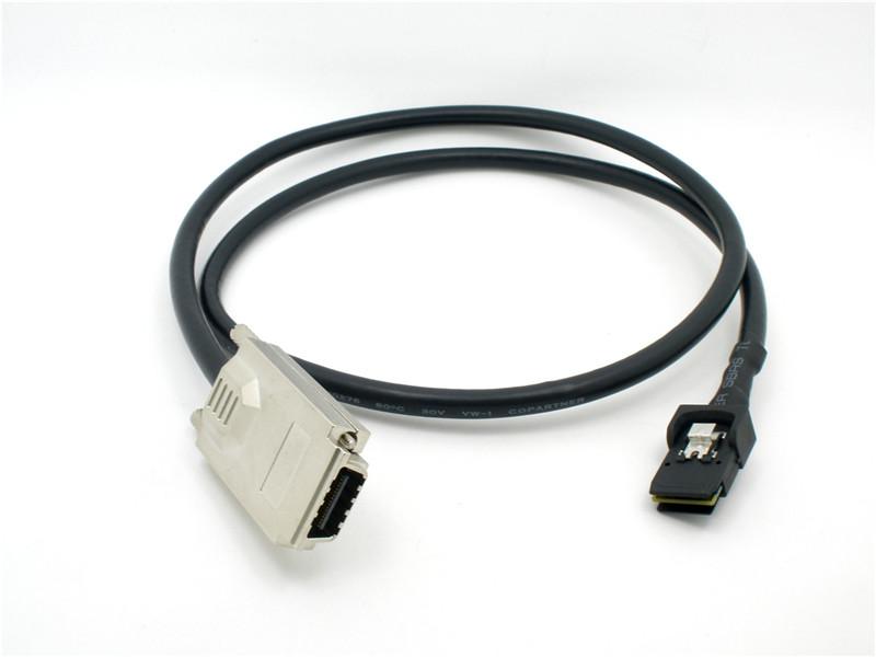 振德 CableDeconn阵列Mini SAS X4 SFF8470 sas36P SFF 8087 服务器SAS数据连接线